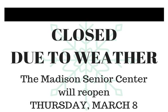 CLOSED ON WEDNESDAY, MARCH 7
