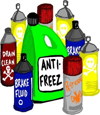 Houshold Hazardous Waste Items