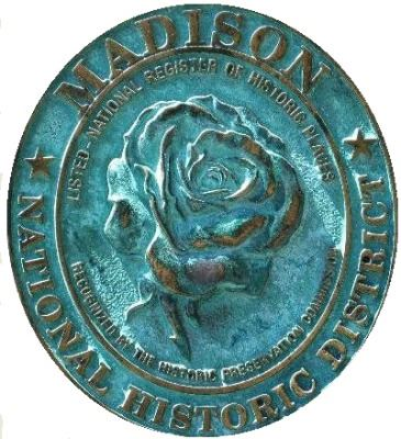 Madison National Historic District Rose Seal