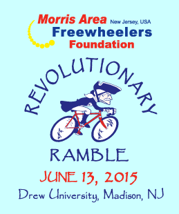 Revolutionary Ramble 2015 poster