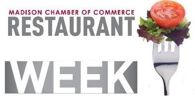 Madison Chamber of Commerce Restaurant Week logo