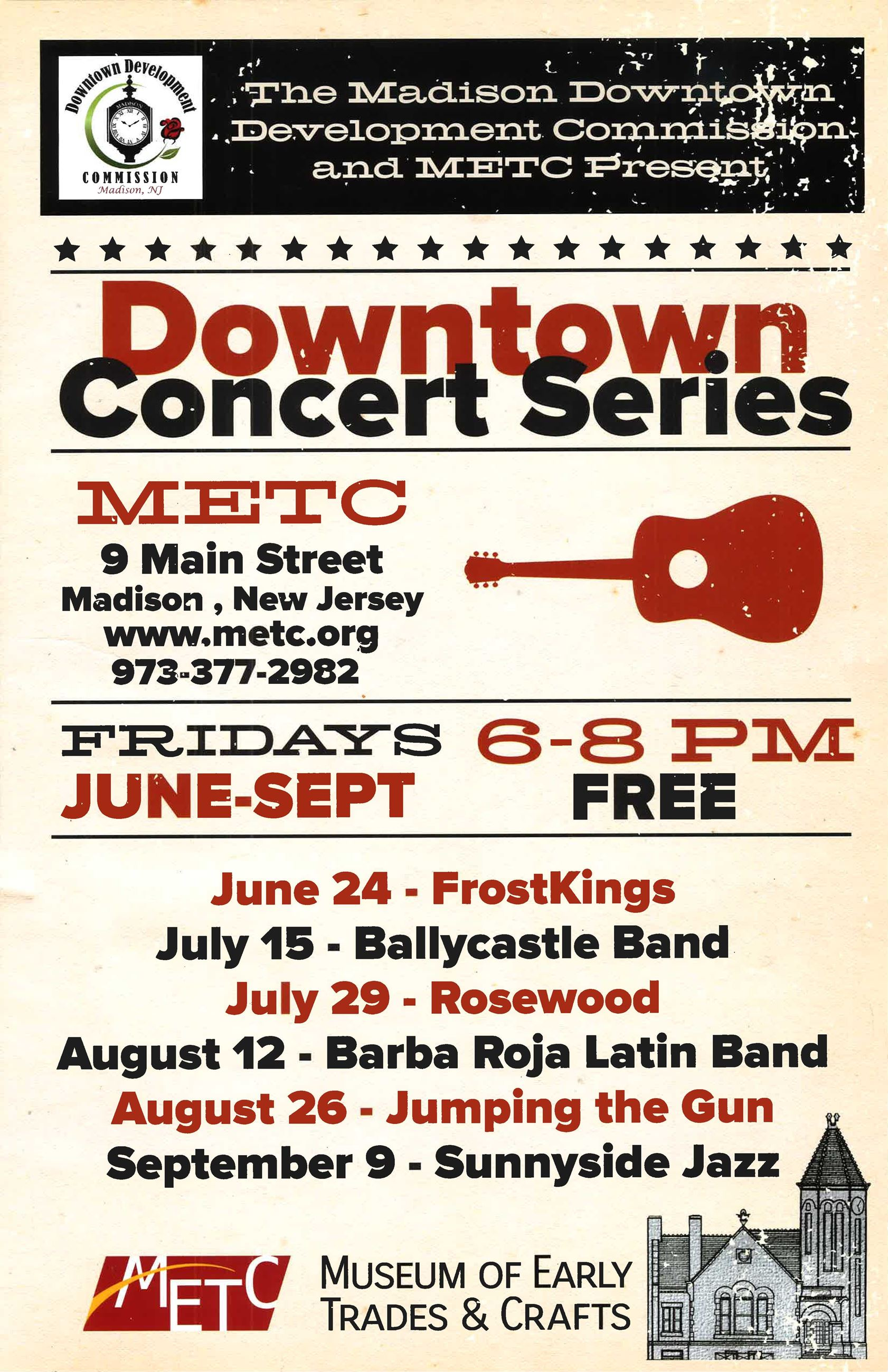 Downtown Concert Series 2016