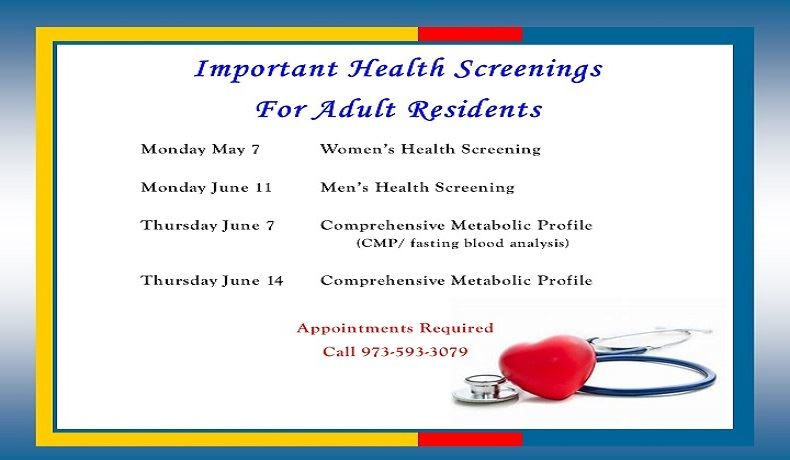 Health Screening for Slideshow
