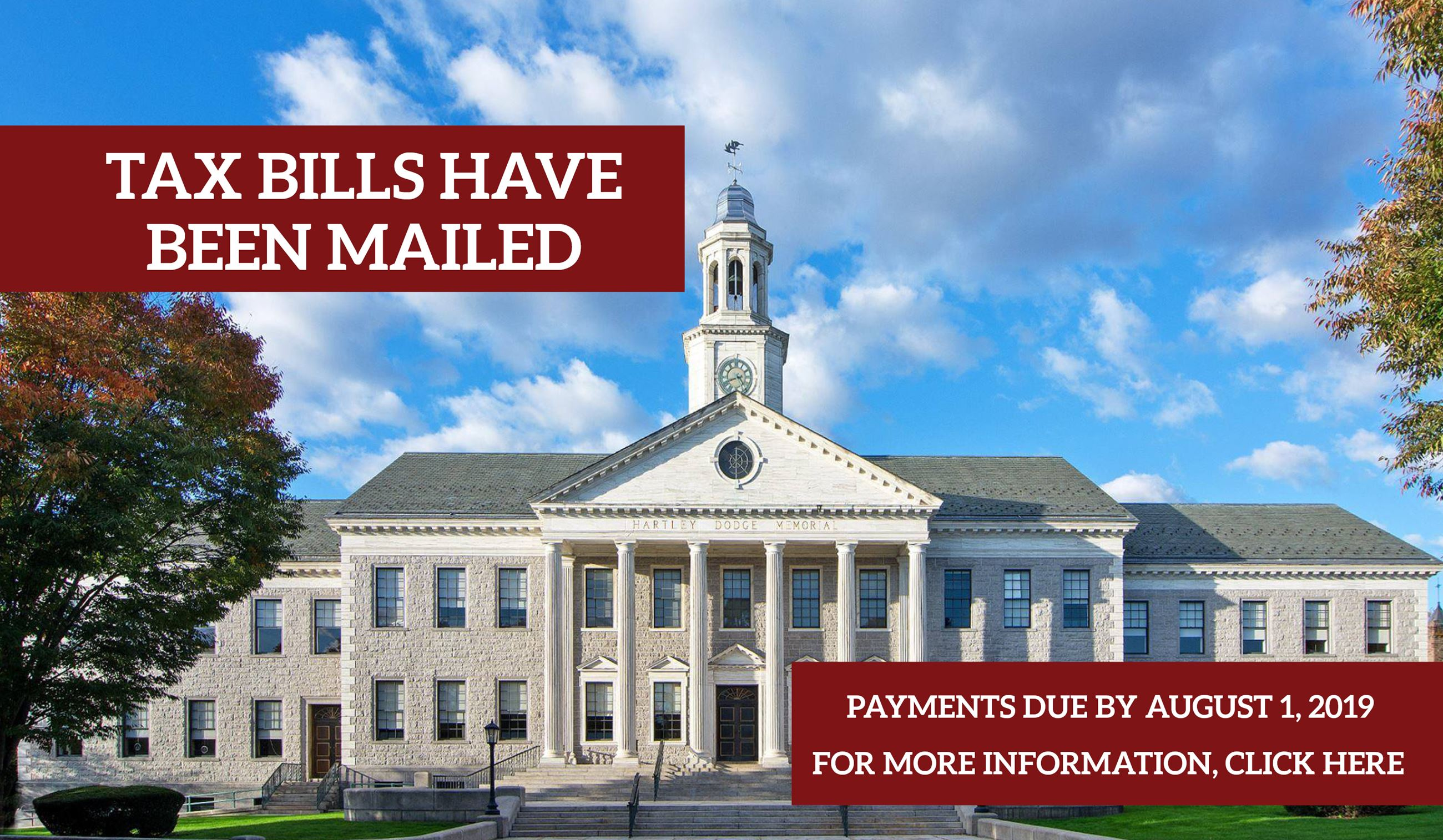 Tax Bills Mailed