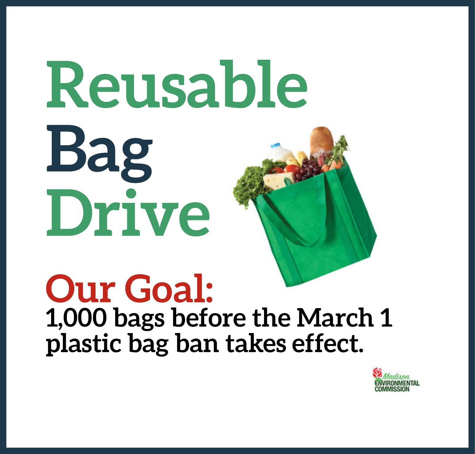 Reusable Bag Drive