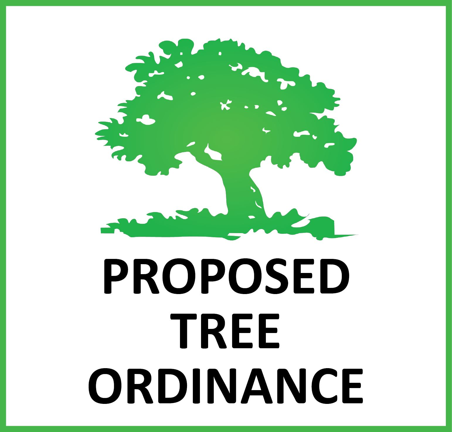 Tree Ordinance