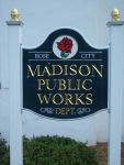 Madison Public Works Building Sign