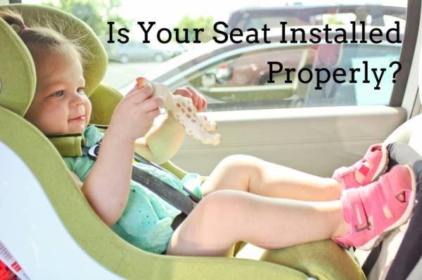 Car Seat Installation | Madison Borough, NJ
