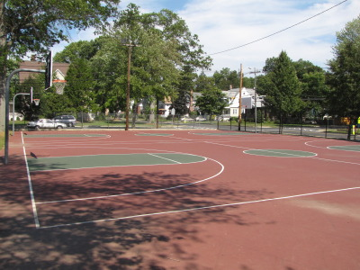 Basketball Court at Dodge