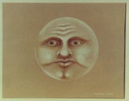Man in the Moon (Pastel)