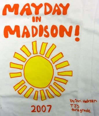 May Day in Madison 2007 Poster