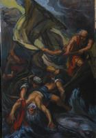 Jonah Thrown to the Sea